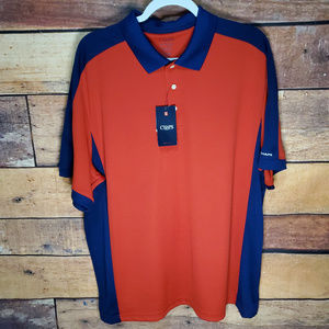 NWT Chaps Golf Polo Size XL | Stay Dry Red